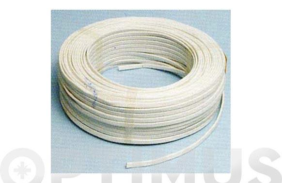 Cable manguera plana h05vvh2-f 2 x 1 blanco