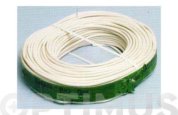 Cable manguera red h05vv-f cpr 2 x 1 blanco