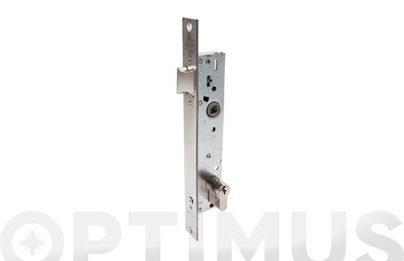Cerradura puerta metalica serie 2210 2219-20 mm inox