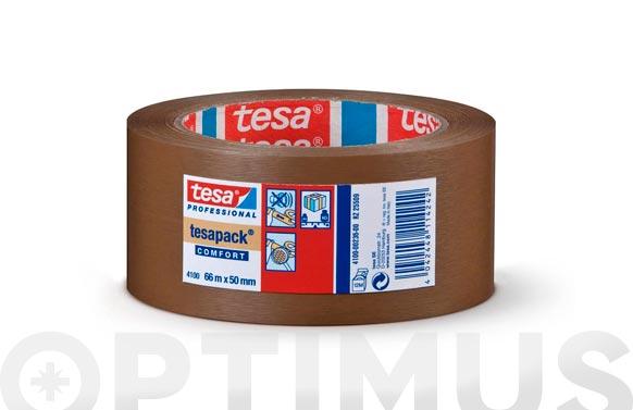 Cinta embalar pvc rugoso marron 66 m x 50 mm