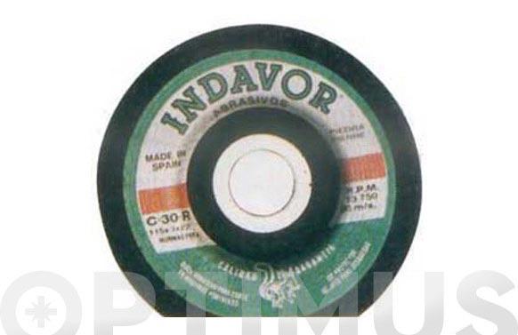 Disco carb.c/piedr.c30 indavor 115 x 3 x 22 s/d