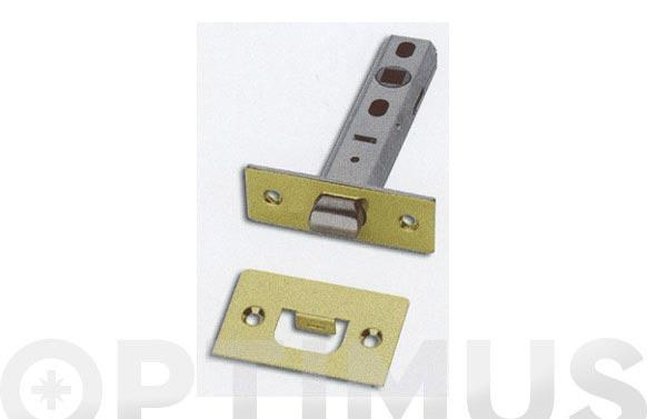 Picaporte latonado herman 901-35 mm