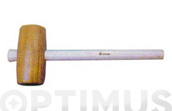 Maza carpintero con mango arnau 80 x 160 mm