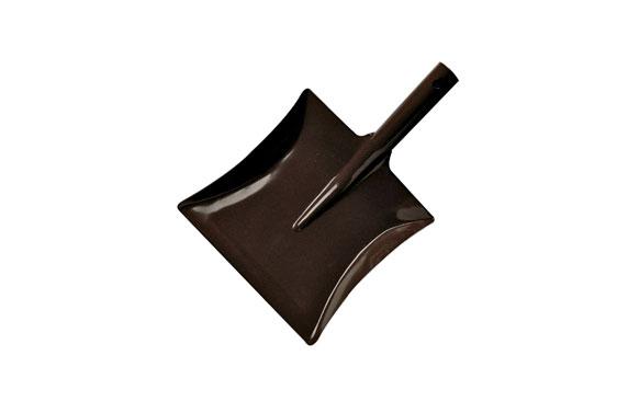 Pala cogedor acero n.4 200x215 mm marron