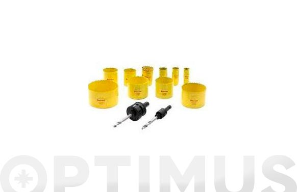Corona perforacion bimetal 127 mm