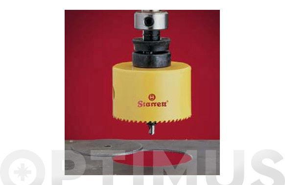 Corona perforacion bimetal 22 mm