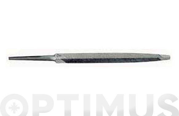 Lima sierra triangular sin mango 100 mm