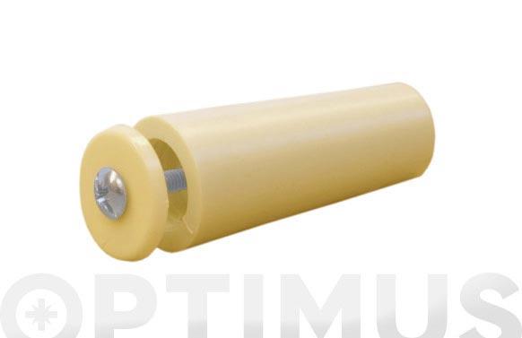 Tope persiana 55 mm marfil