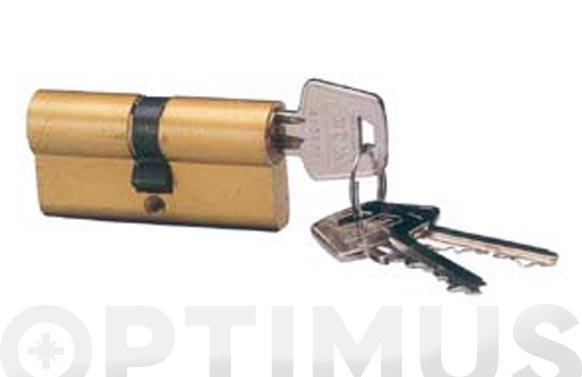 Cilindro c laton llaves iguales 30-40 leva corta llaves iguales