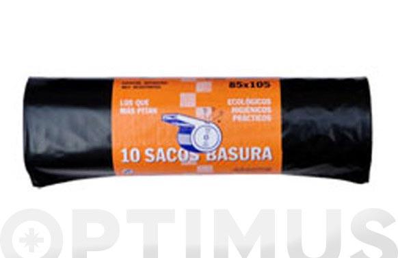 Saco basura el pito 120 l (10 uds) 85 x 105 cm g-200