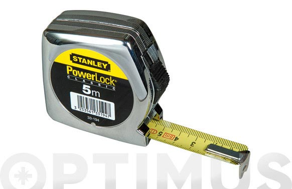 Flexometro abs powerlock 5 m x 19mm