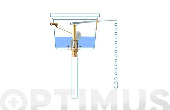 Descarga cisterna alta conjunto maf-100