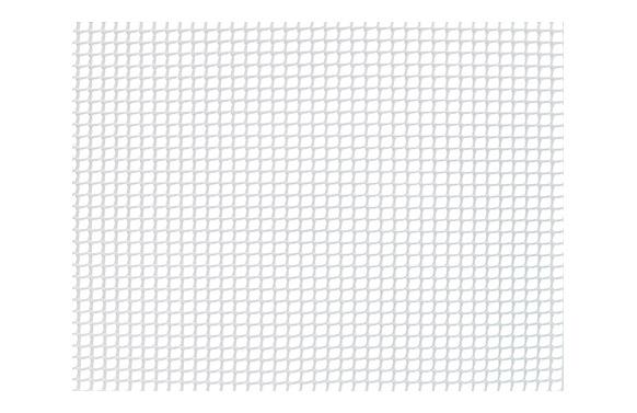 Malla cuadranet premium (malla 5x5mm) 400gr/m2 1 x 25 m blanca