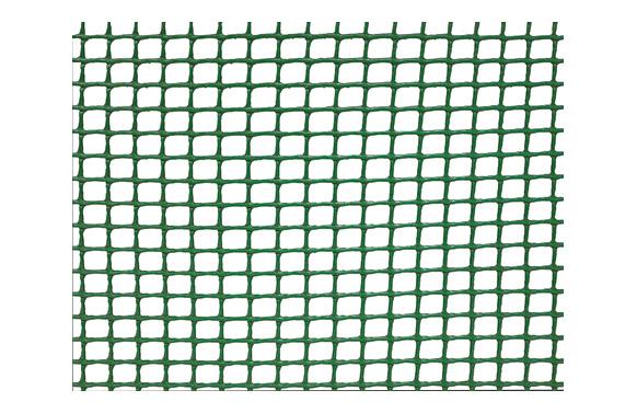 Malla cuadranet premium (malla 10x10mm) 400gr/m2 1 x 25 m verde