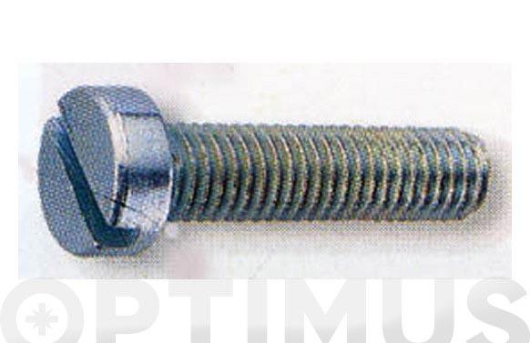 Tornillo din 84 cabeza cilindrica cincado m-6 x 12