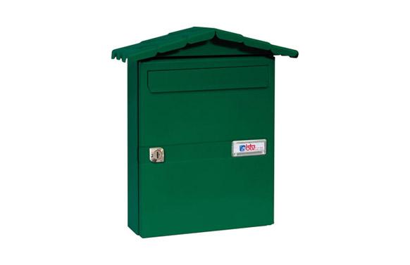 Buzon exterior acero chalet verde