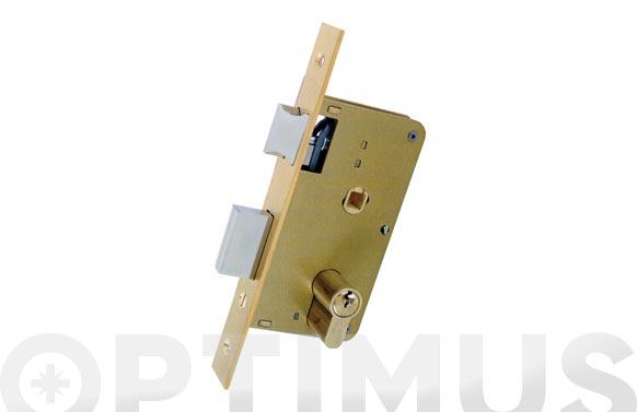 Cerradura embutir madera golpe y llave 3100-hl/124x45