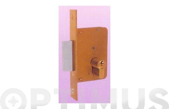 Cerradura embutir madera llave sola 4200-hl/98x50