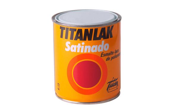 Esmalte satinado titanlak 1424 750 ml crema