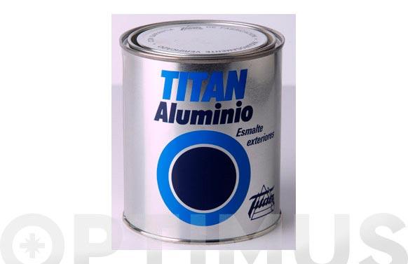 Esmalte aluminio exteriores 125 ml