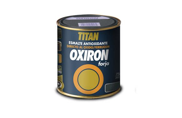 Esmalte oxiron forja 750 ml gris acero