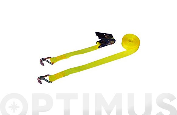 Ratchets amarre con 2 ganchos cerrados 35 mm - 6 metros