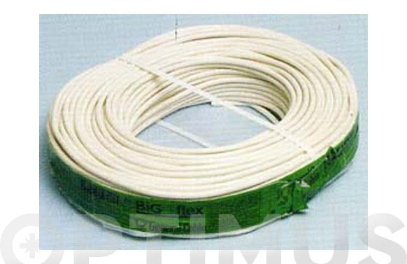 Cable manguera red h05vv-f cpr 2 x 2,50 blanco