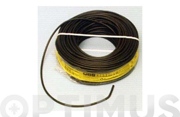 Cable manguera acr.0.6/1kv. 3 x 1.5 negro 100 m
