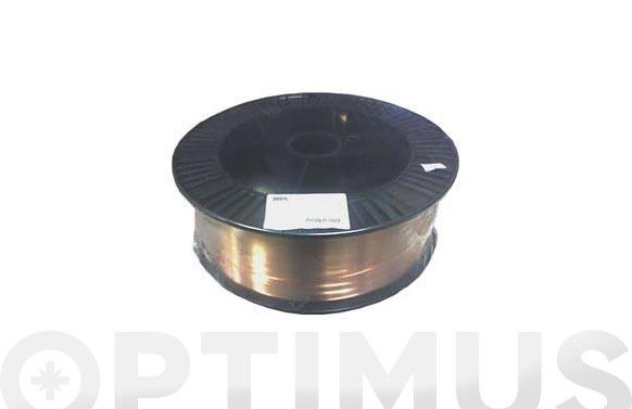 Hilo soldar macizo aws er70s-6 16 kg 0.8 mm