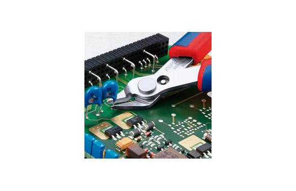 Alicate electronica corte diagonal 125 mm