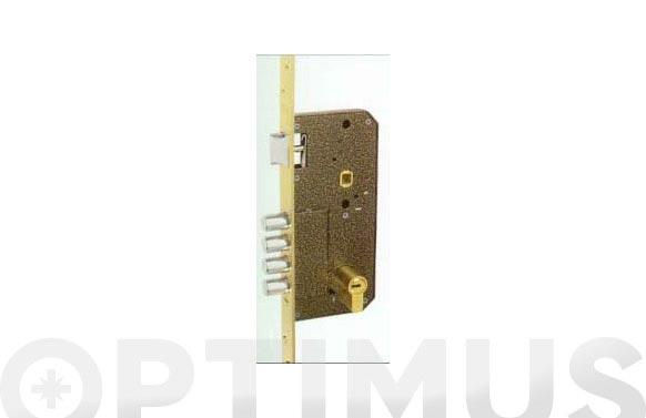 Cerradura seguridad laton golpe y llave 700b/50-ds15/60