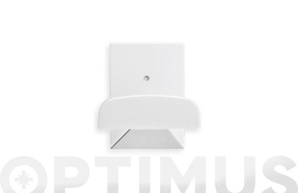 Colgador adhesivo blanco 3 unidades