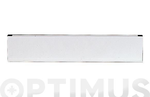 Bocacartas aluminio color blanco