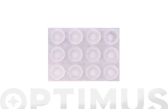 Gota transparente adhesiva 13 mm