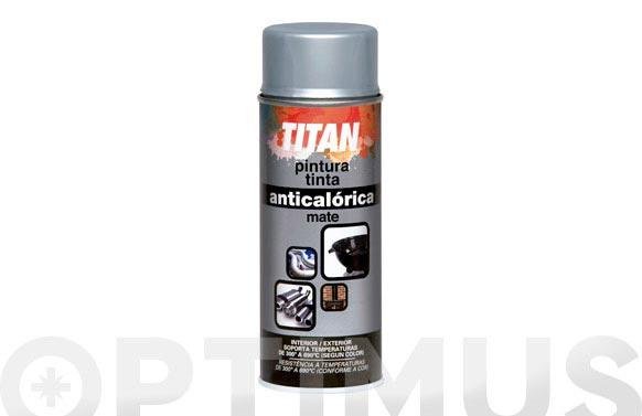 Pintura spray anticalorica 400ml aluminio