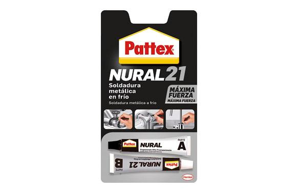 Adhesivo soldadura metal en frio pattex nural 21 22 ml