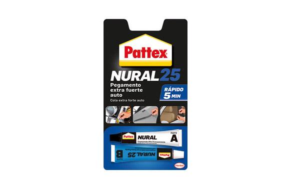 Adhesivo automovil rapido pattex nural 25 22 ml