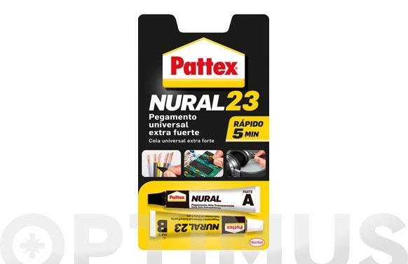 Adhesivo universal transparente pattex nural 23 22 ml