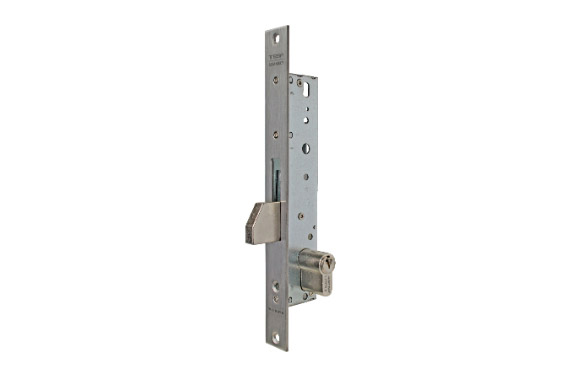 Cerradura puerta metalica serie 2210 2211-25 mm inox
