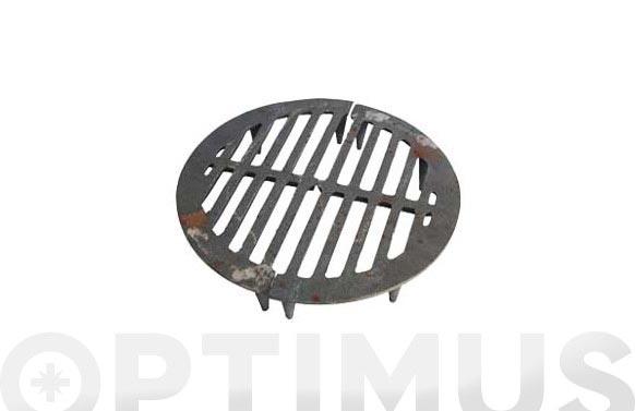 Porta rejilla estufa leña juego n.2 ø 30,5 cm