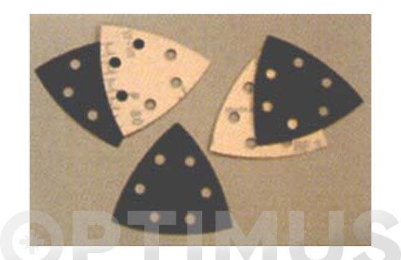 Papel abralite velgrip p46e triangular 94-120/6 agujeros