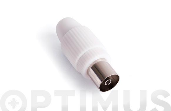 Conector recto hembra blanco mp-612e/h9.5