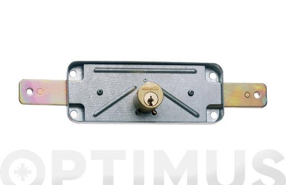 Cerradura sobreponer puerta metalica 1511av cincado