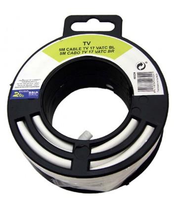 Cable coaxial antena tv economico 15 m