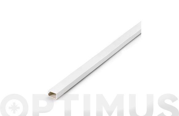 Canaleta adhesiva blanca 12 x 7 mm 2 m