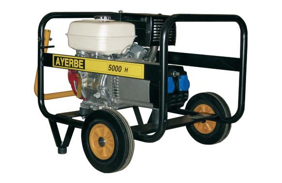 Generador ay-5000 honda 9hp 5 kva