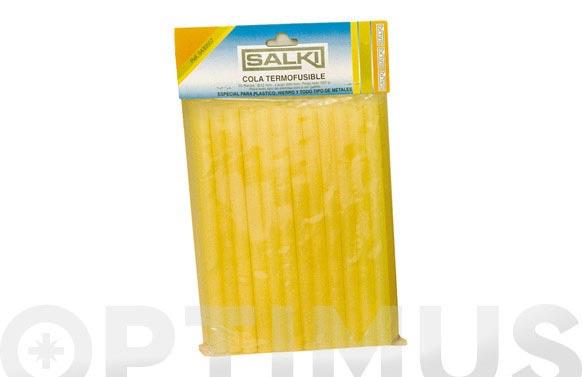 Adhesivo termofusible barra 500gr translucida-ambar