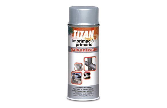 Galvanizado en frio spray 400 ml gris