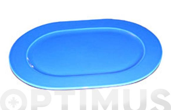 Bandeja ovalada airone azul
