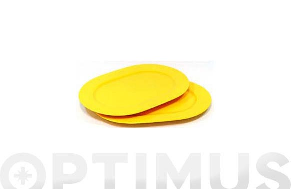 Bandeja ovalada airone amarillo
